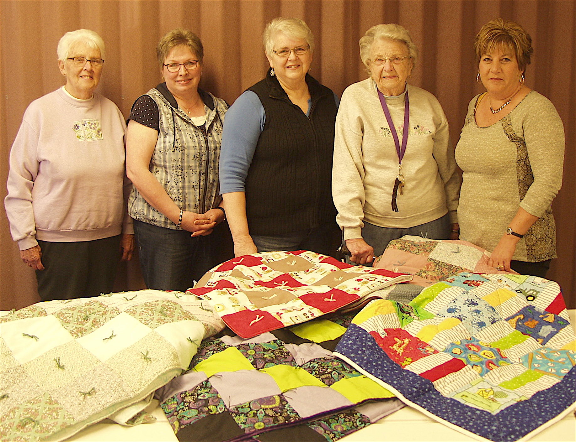 Corinth Reformed Church Quilters Cutline No. 1