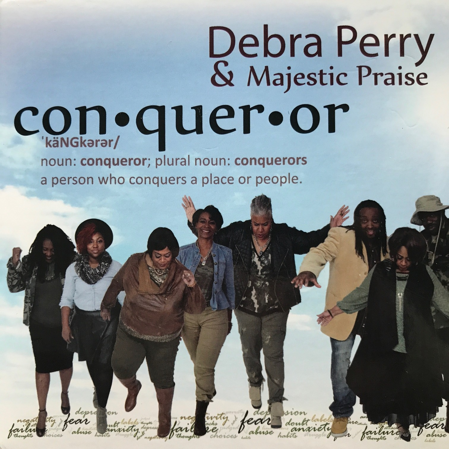 Debra Perry  CD Cover