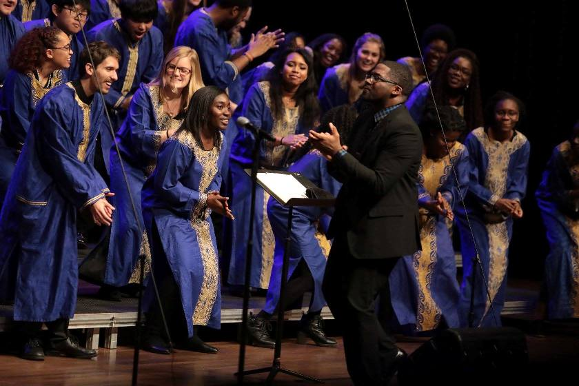 Gospel Choir led by Nate Glasper