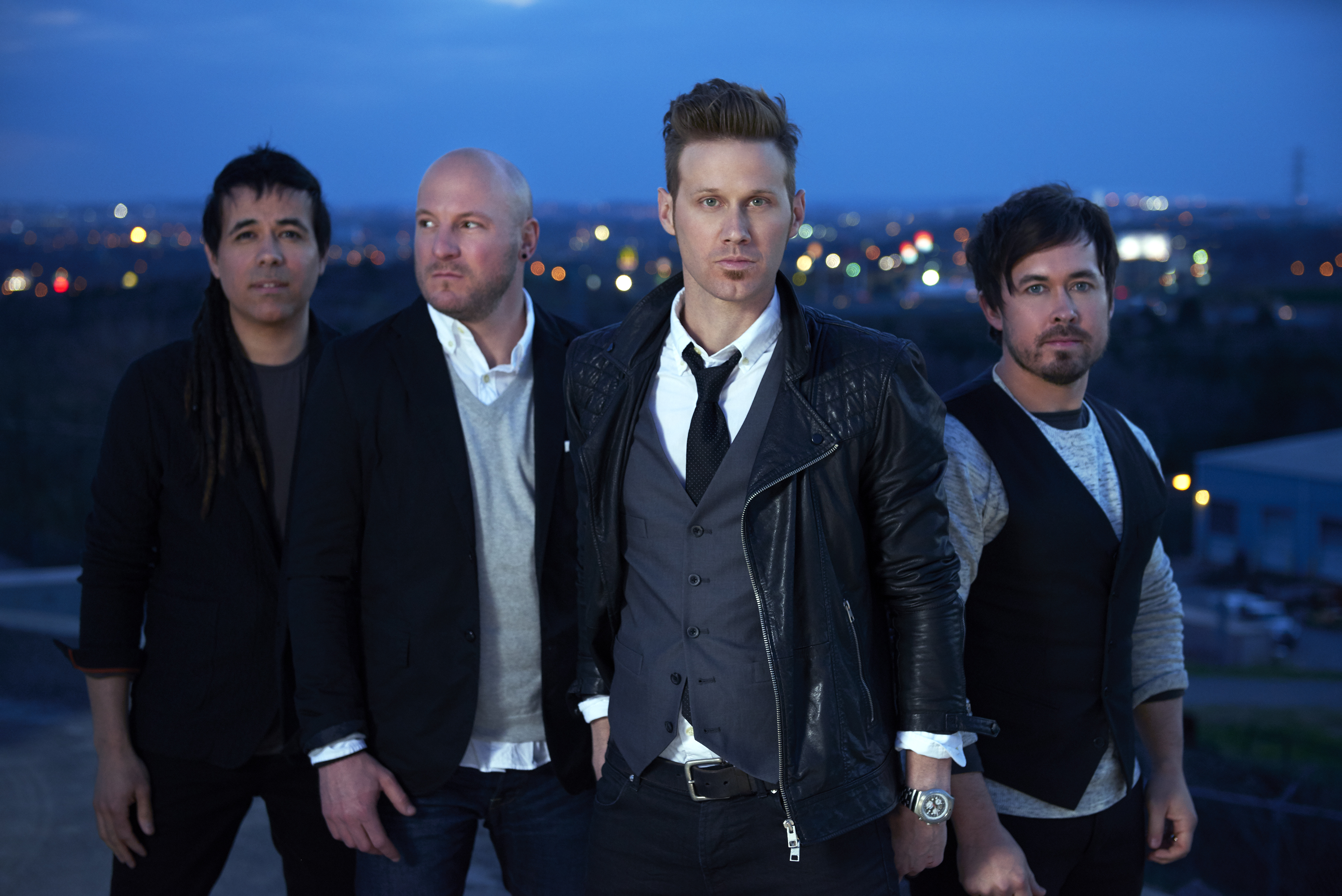 Jason Roy 2nd from right and Building 429