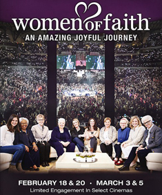 Women of Faith theatre event235